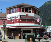 Red Dog Saloon, our lunch stop in Juneau.
