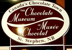 The Chocolate Museum entry. (click on picture for view of museum.