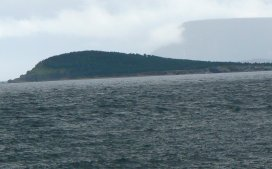 There are many small, off-shore islands around Cape Breton.