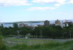 This is a different view of the city of Halifax.