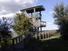 Wildlife observation tower, one of three such structures on the more developed part of the WMA.