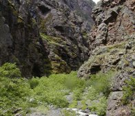The first canyon to be called Hell's Canyon is a small one that is only about 50' wide.