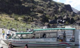 This is the boat we took for the canyon tour.
