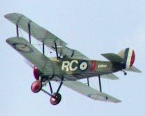 This is the last Sopwith Camel still flying. Click for a different view.