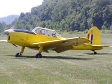 This version of the Tiger Moth was introduced during WWII.