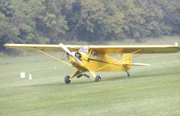 The Piper Cub, one of the my favorite planes for pure pleasure flying.