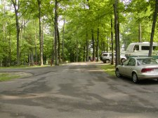 The park campground.