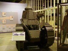 World War one tank like Patton helped to develop into the modern US armor.