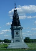 Monument to the regiment from Tammany, New York.