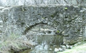 The Espada aquaduct was constructed in the 1740's and carries water today.