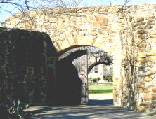 The entrance gate to San Jose Mission.