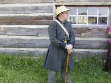 Our tour of the battlefield was led by a park ranger in the uniform of a Union soldier.