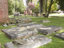 The oldest graveyard in the Americas.