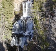 Undine Falls (click to view Tower Falls)