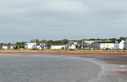 A typical small coastal town on PEI.