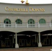 Just across the river in Louisville, is the famous Churchill Downs.