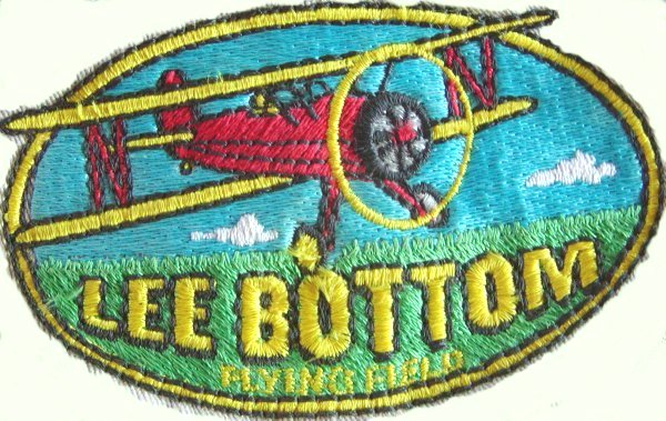 This is the embroideried patch for Lee Bottom.