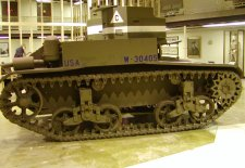 Another early tank from between the world wars.
