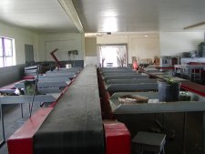 The grading room is part of the packing and shipping facility.
